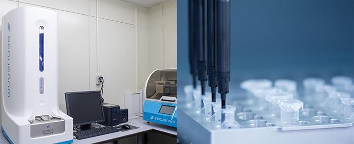 遺伝子分析から検査まで行える施設を持つ