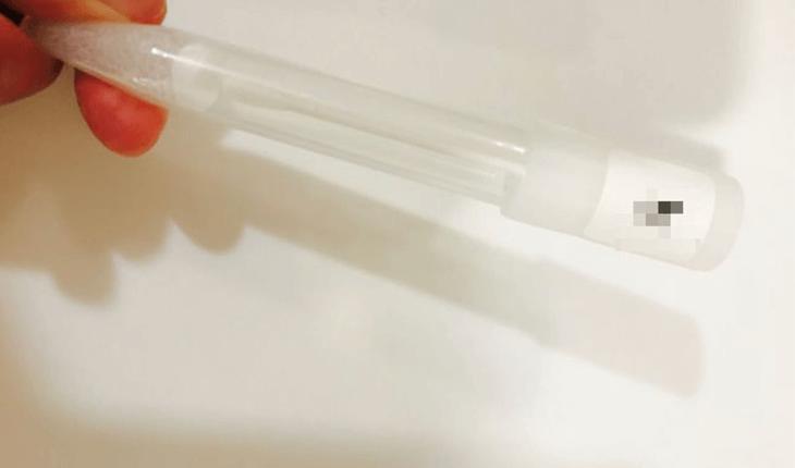 葉酸代謝遺伝子検査の採取用綿棒