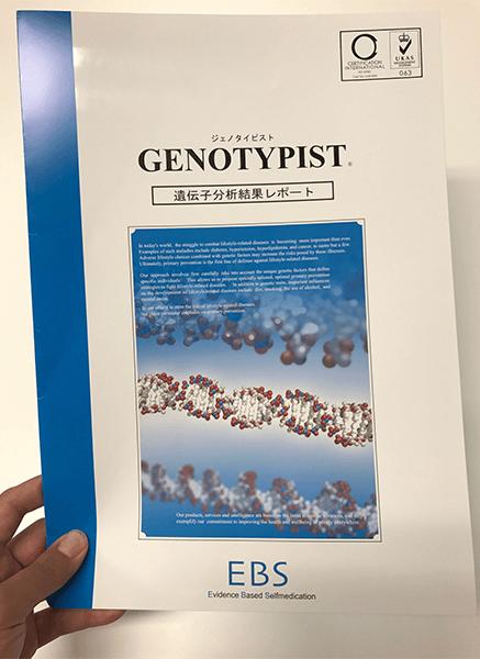 GENOTYPIST 葉酸代謝遺伝子検査キット