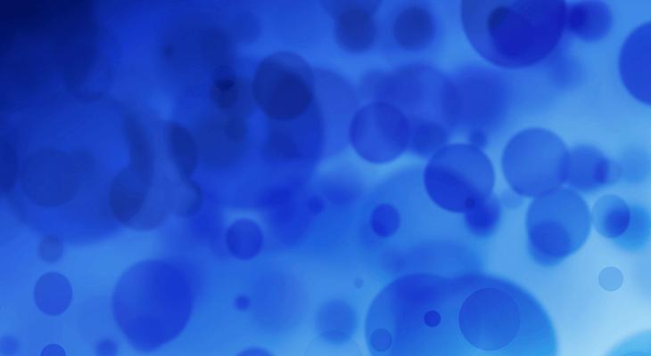 青いバクテリア