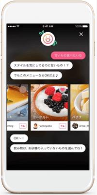 FiNCアプリの画面