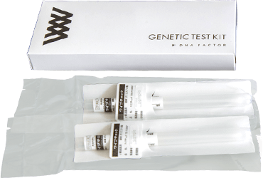 DNAファクター 子どもの能力遺伝子検査 遺伝子採取用綿棒