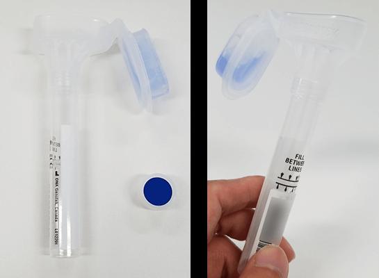 ジーンライフ マイセルフ2.0は唾液をとるタイプのキット