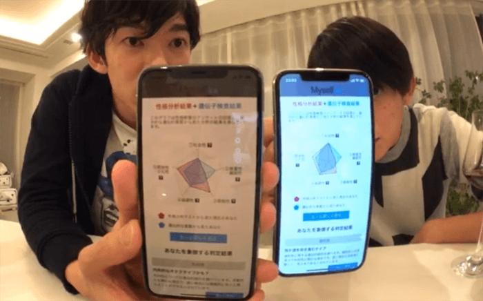 メンタリストDaiGoと松丸亮吾の遺伝子検査結果